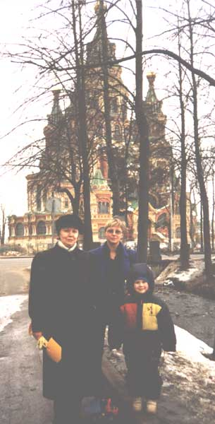 Собор Петропавловский в Петергофе