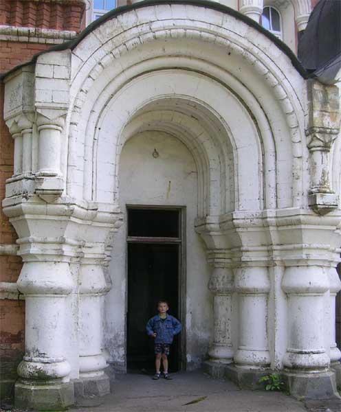 церковь св. Саввы Стратилата. Троице-Сергиевская пустынь church of St Savva Stratilat