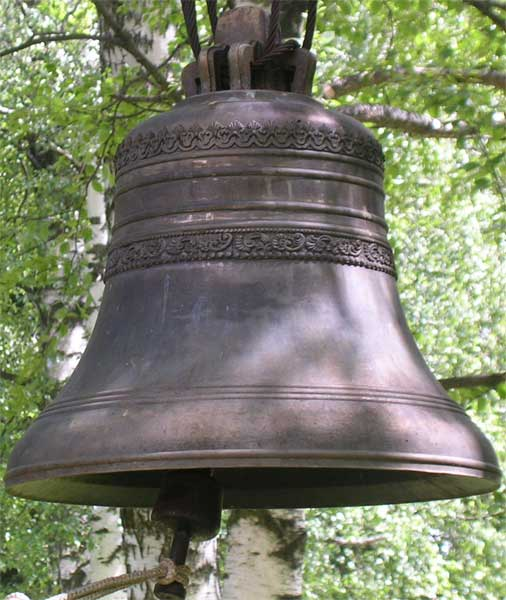 колокол. Троице-Сергиевская пустынь bell