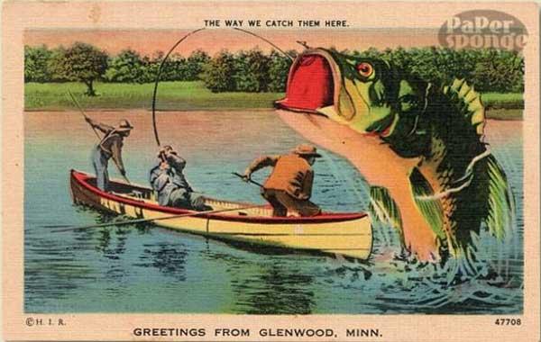 Открытки для деда рыбака
