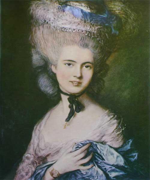 Т. Гейнсборо. Портрет герцогини де Бофор
