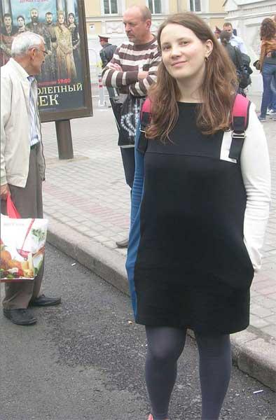 Участница десанта из Петербурга Participant of descent from St.-Petersburg
