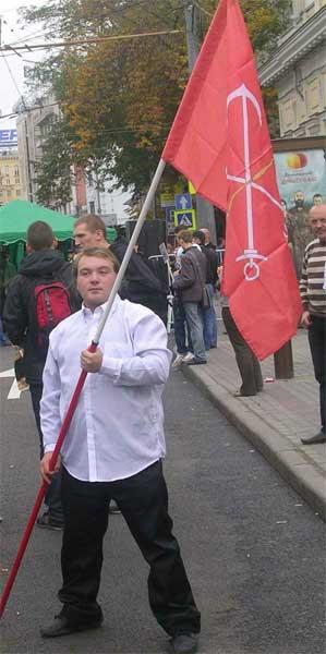 Участник десанта из Петербурга Participant of descent from St.-Petersburg