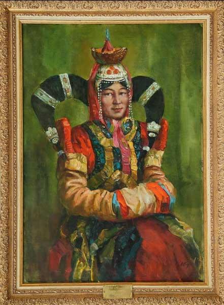 М.Я.Будкеев. Дочь Монголии