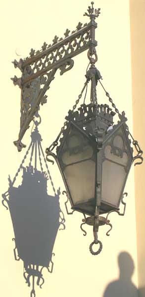 фонарь фасадный lantern