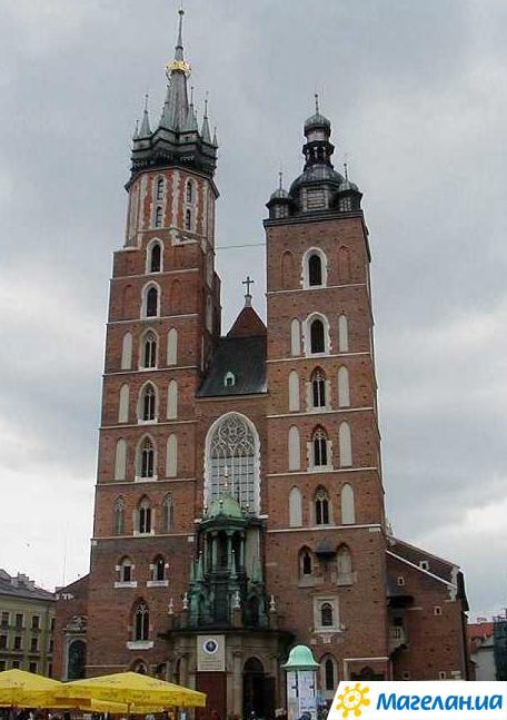 Костёл Девы Марии в Кракове