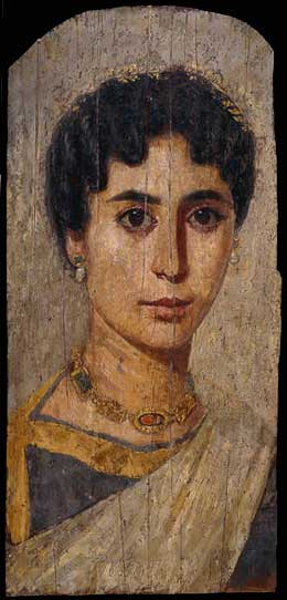 Портрет знатной египтянки