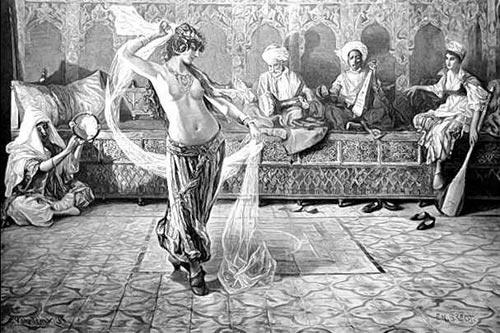 медосмотр рабынь у султанов фото