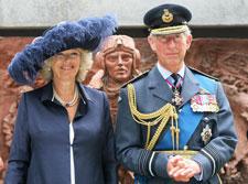 Открытие памятника Битва Британии